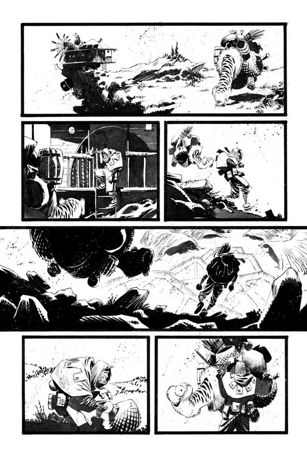 Black Science Issue 17 page 14 by Matteo Scalera