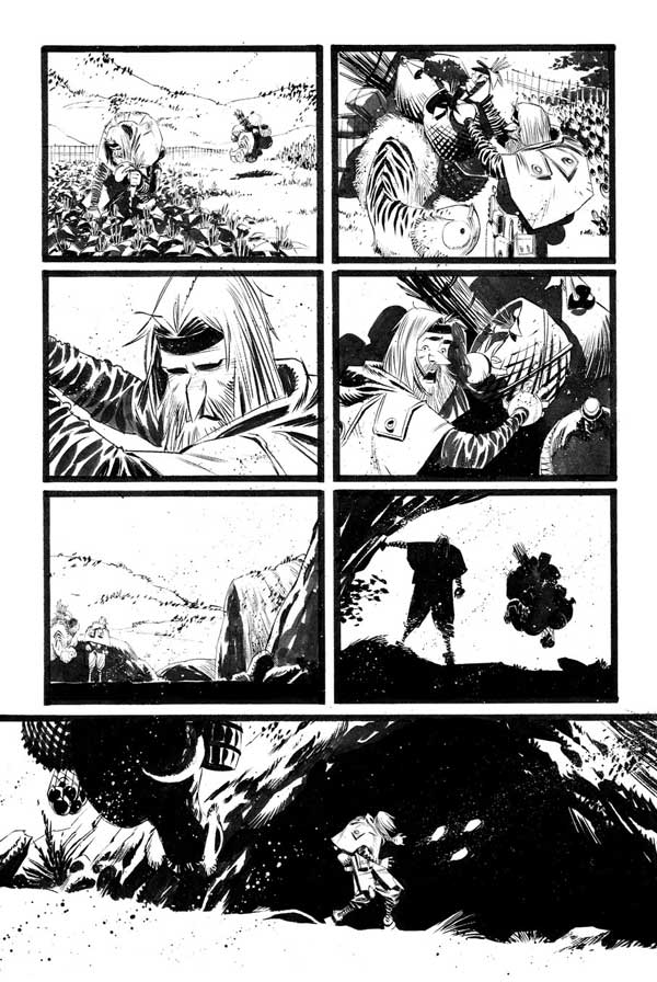 Black Science Issue 17 page 15 by Matteo Scalera