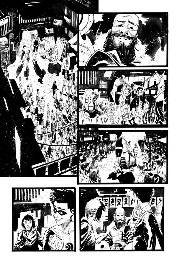 Black Science Issue 27 Page 16 by Matteo Scalera