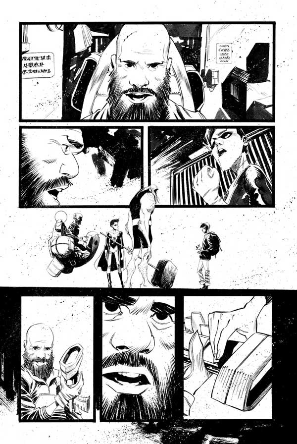 Black Science Issue 27 Page 17 by Matteo Scalera