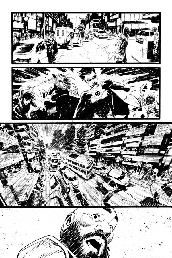 Black Science Issue 27 Page 19 by Matteo Scalera