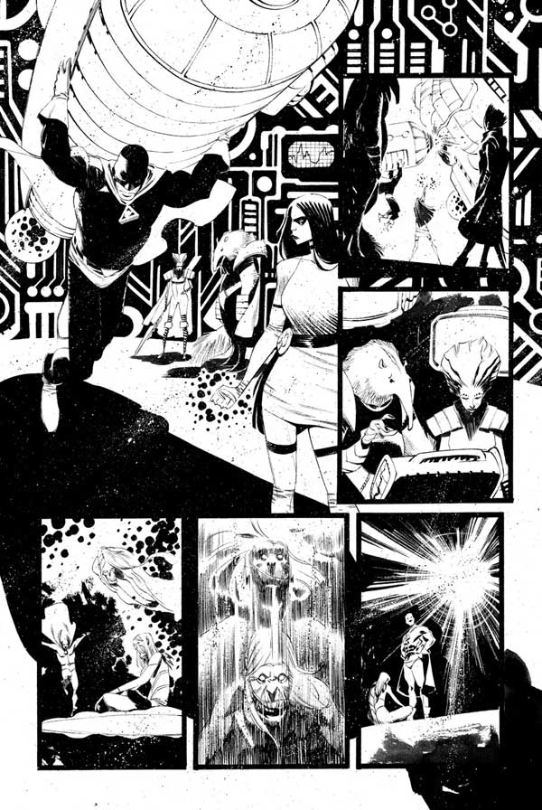 Black Science Issue 28 Page 02 by Matteo Scalera