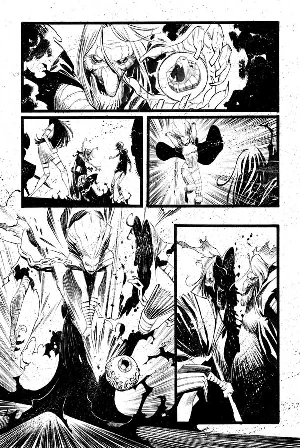 Black Science Issue 28 Page 11 by Matteo Scalera