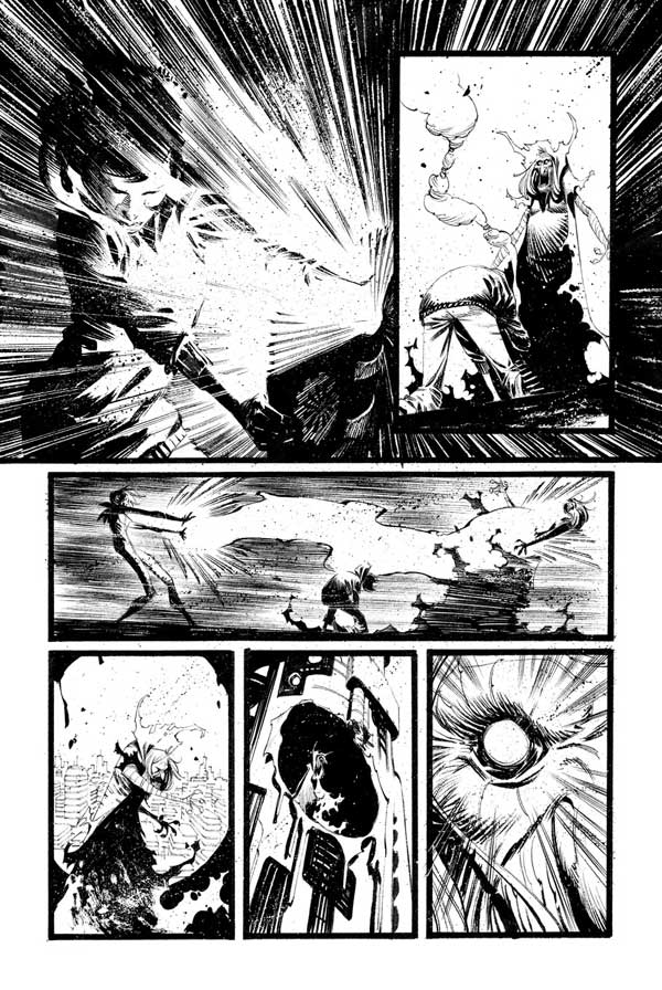 Black Science Issue 28 Page 19 by Matteo Scalera