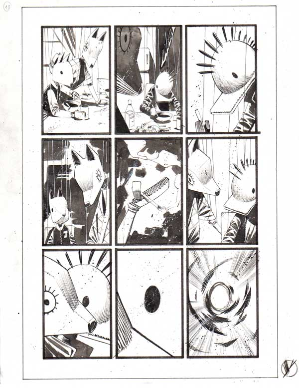Black Science Issue 18 page 13 by Matteo Scalera
