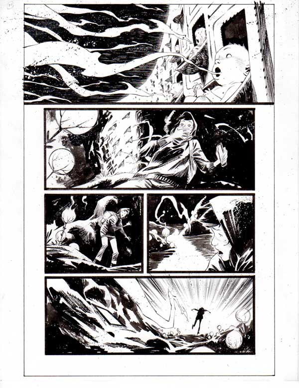 Black Science Issue 26 page 20 by Matteo Scalera