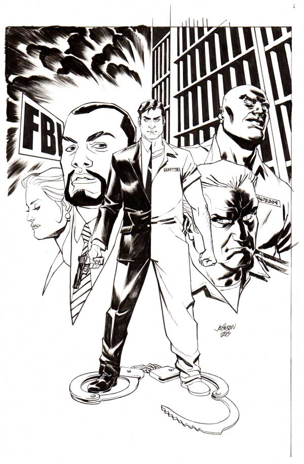 Cops for Criminals #1 Cover by Dave Johnson