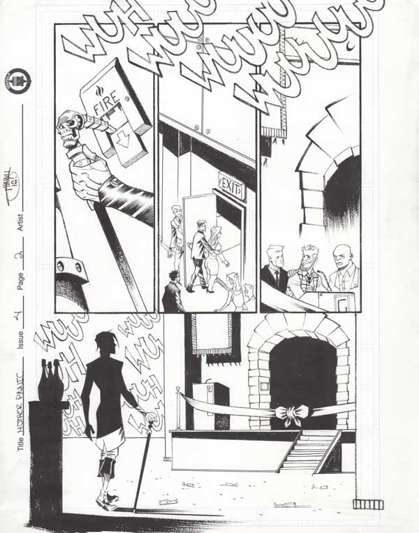 Mother Panic Issue 4 p.02 by Shawn Crystal