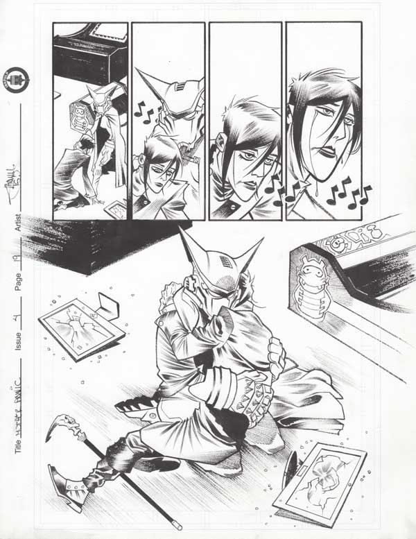 Mother Panic Issue 4 p.19 by Shawn Crystal