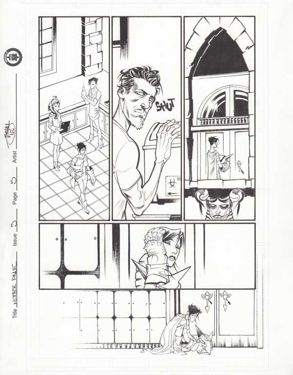 Mother Panic Issue 5 p.05 by Shawn Crystal