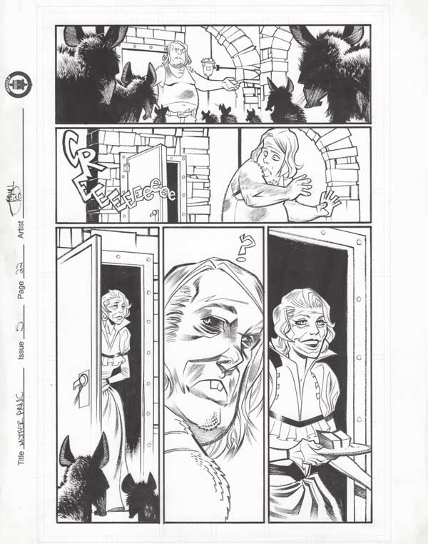 Mother Panic Issue 5 p.22 by Shawn Crystal