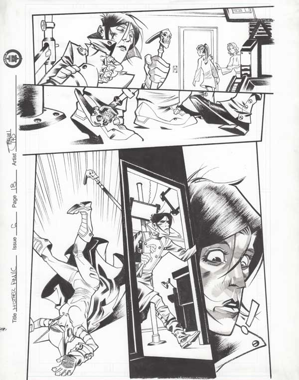 Mother Panic Issue 6 p.18 by Shawn Crystal