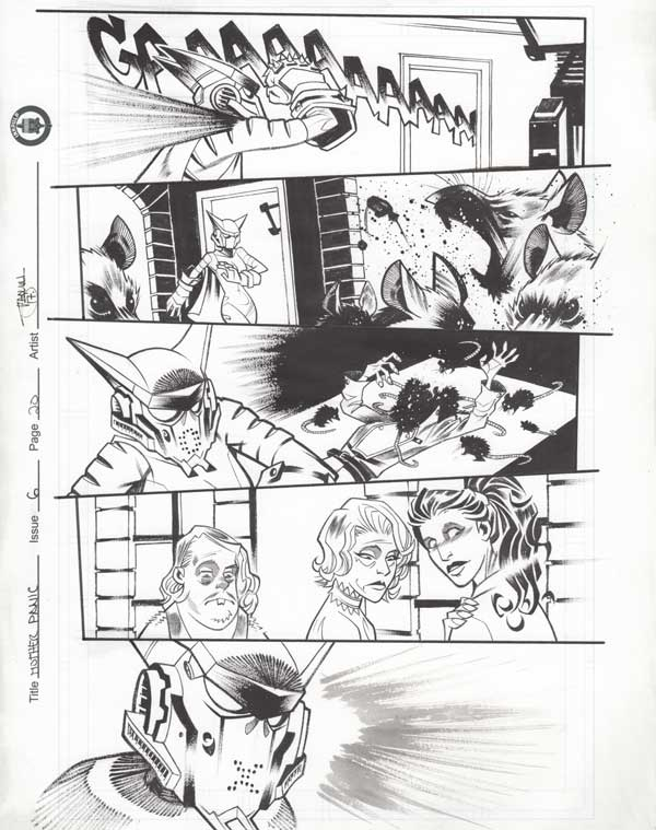 Mother Panic Issue 6 p.20 by Shawn Crystal