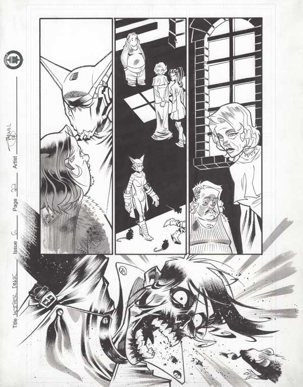 Mother Panic Issue 6 p.22 by Shawn Crystal