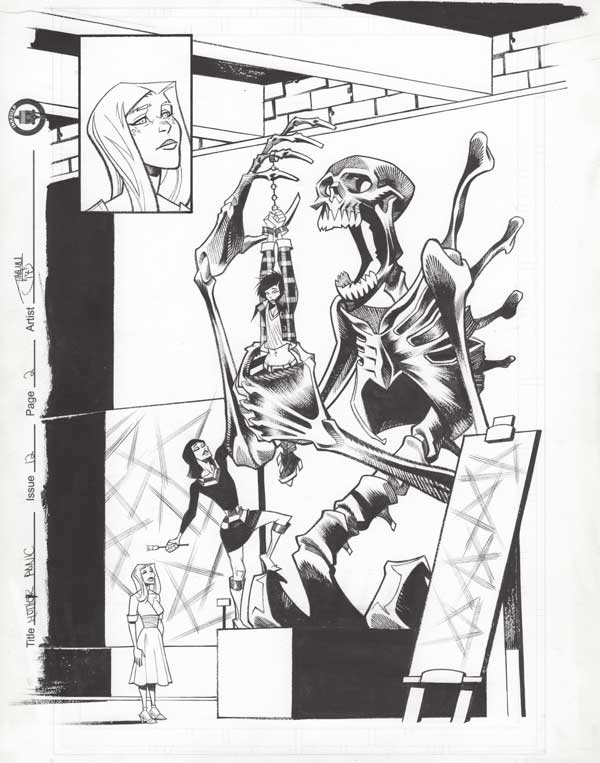 Mother Panic Issue 12 p.02 by Shawn Crystal