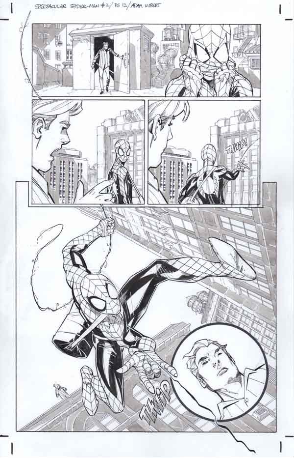 PP:Spec Spiderman #2 p.12 by Adam Kubert