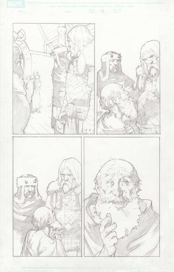Trial of Thor #32 p.13 by Cary Nord