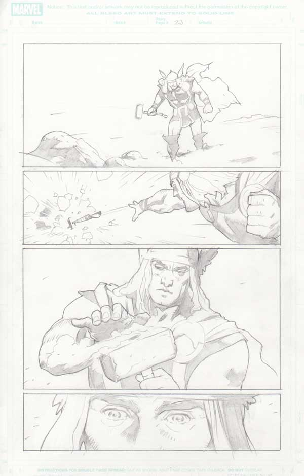 Trial of Thor #32 p.23 by Cary Nord