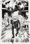 Adventure Time Mad Max Var by Tommy Lee Edwards