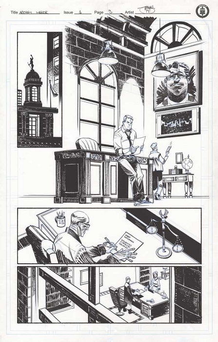 Arkham Manor Issue 1 p.03 by Shawn Crystal