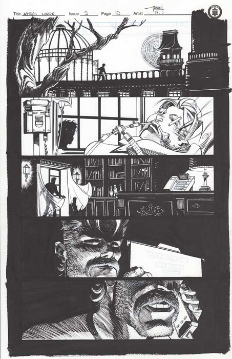 Arkham Manor Issue 2 p.10 by Shawn Crystal