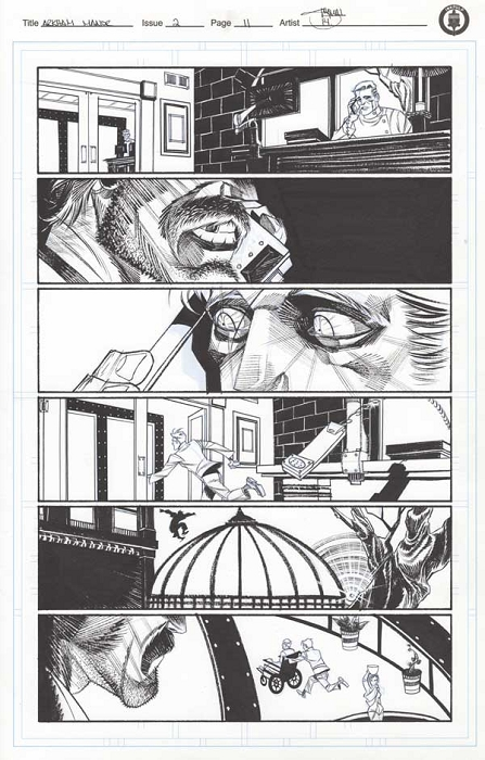 Arkham Manor Issue 2 p.11 by Shawn Crystal