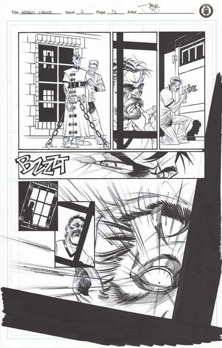 Arkham Manor Issue 2 p.13 by Shawn Crystal
