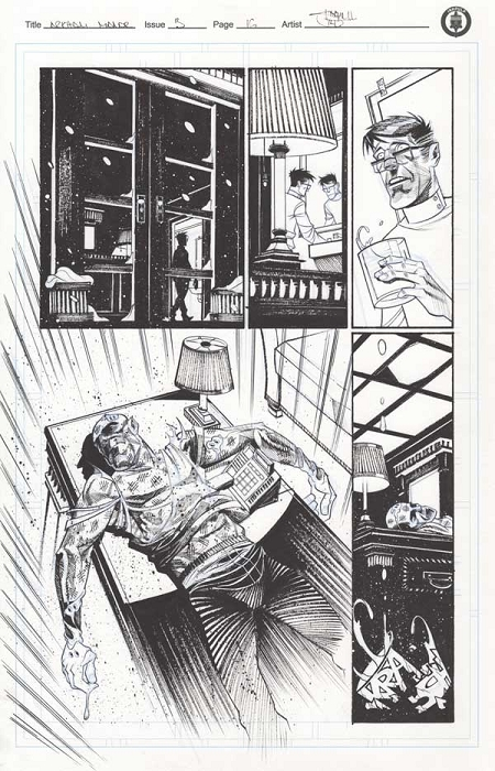 Arkham Manor Issue 3 p.16 by Shawn Crystal