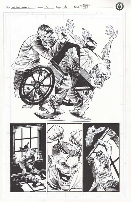 Arkham Manor Issue 3 p.18 by Shawn Crystal