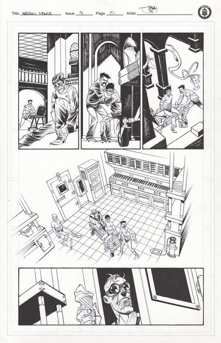 Arkham Manor Issue 4 p.10 by Shawn Crystal
