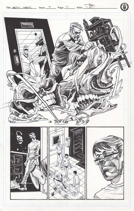Arkham Manor Issue 4 p.13 by Shawn Crystal