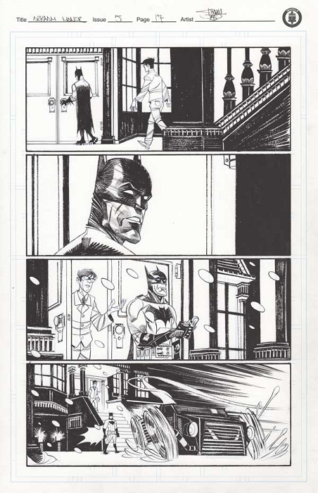 Arkham Manor Issue 5 p.17 by Shawn Crystal