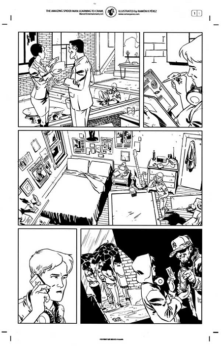 ASM: Learning to Crawl #1 p.09 by Ramon Perez