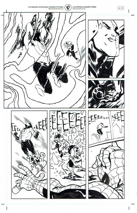 ASM: Learning to Crawl #4 p. 16 by Ramon Perez