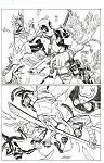 Avengers & Xmen #5 Var by Dave Johnson Comic Art