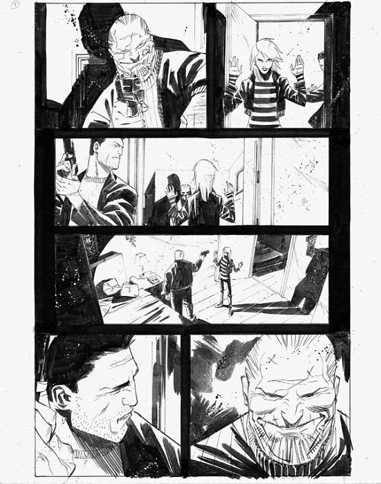Dead Body Road Issue 3 p.01 by Matteo Scalera