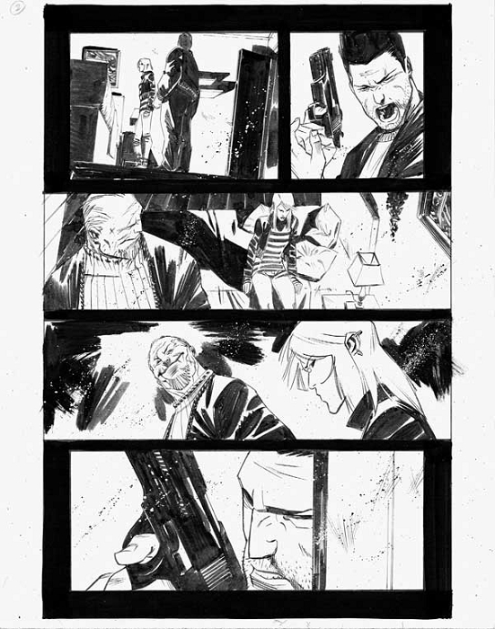 Dead Body Road Issue 3 p.02 by Matteo Scalera