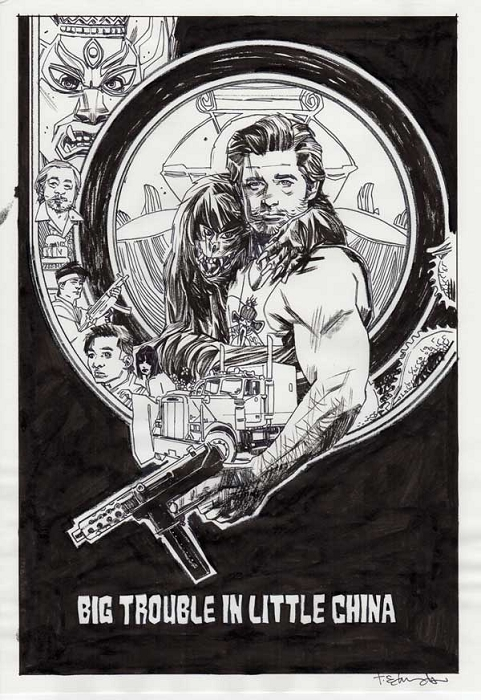 Big Trouble in Little China #3 Var by Tommy Lee Edwards
