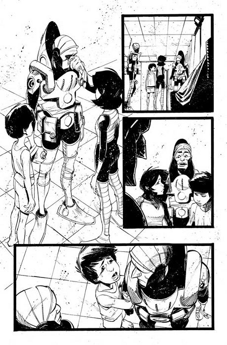 Black Science Issue 5 Pages 06 by Matteo Scalera