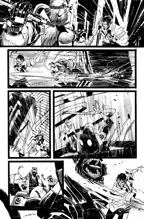 Black Science Issue 6 Page 19 by Matteo Scalera