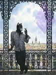 Blacksad Canvas Art by Juanjo Guarnido