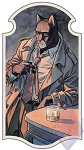 Limited-Edition Blacksad Nouveau Print by Juanjo Guarnido