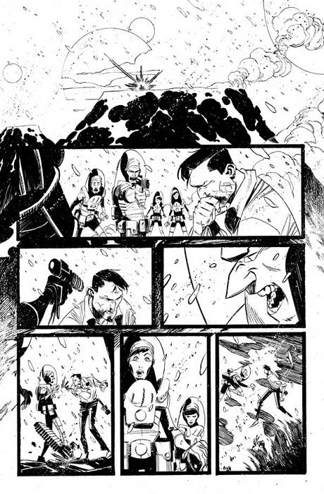 Black Science Issue 5 Pages 25 by Matteo Scalera