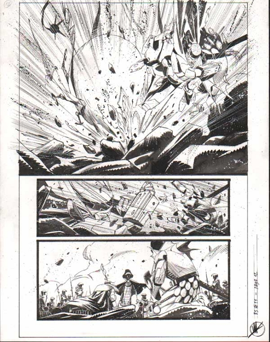Black Science Issue 11 page 12 by Matteo Scalera