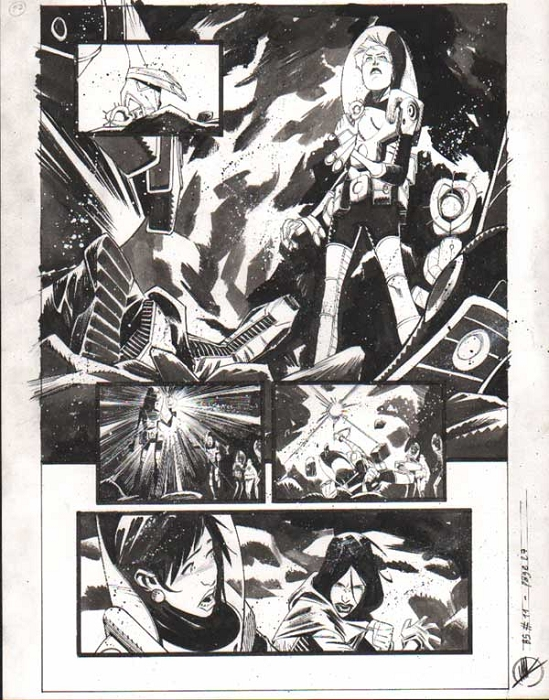 Black Science Issue 11 page 27 by Matteo Scalera