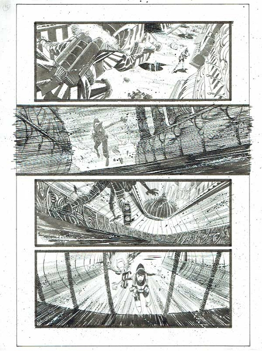 Black Science Issue 12 page 15 by Matteo Scalera