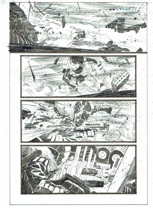 Black Science Issue 12 page 16 by Matteo Scalera