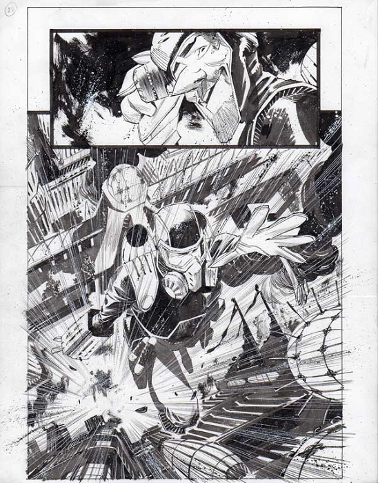 Black Science Issue 14 page 22 by Matteo Scalera
