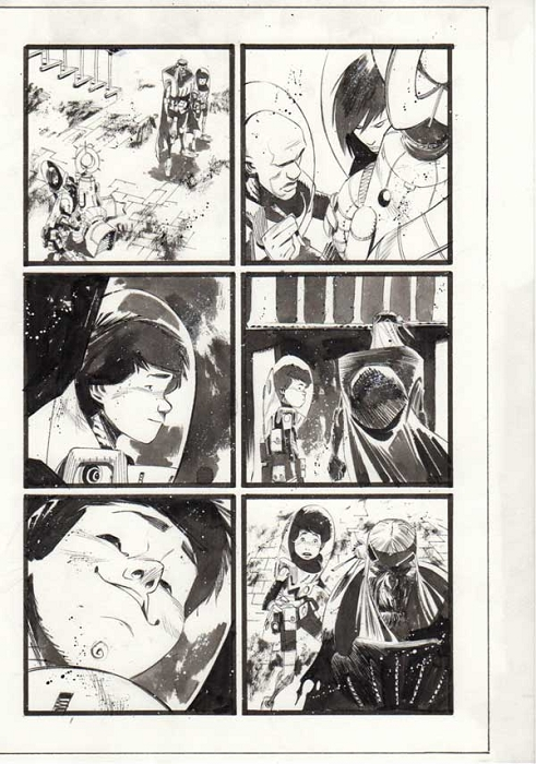 Black Science Issue 15 page 10 by Matteo Scalera