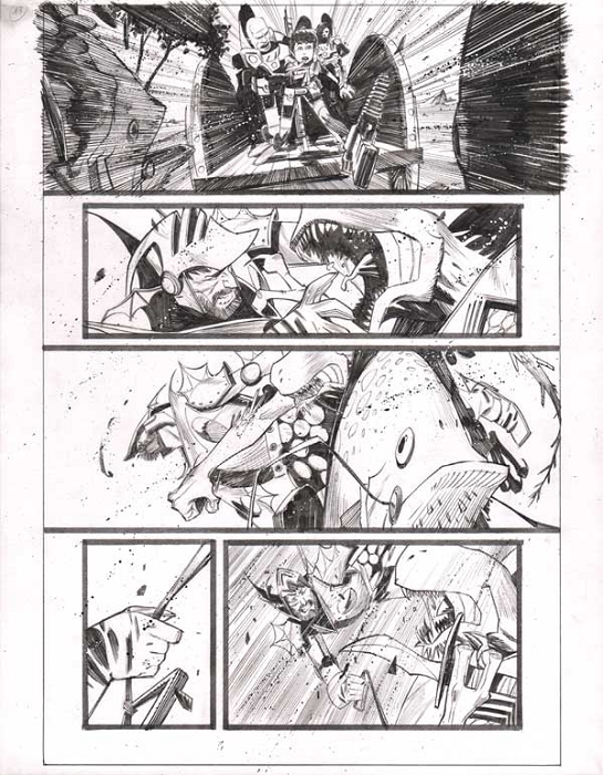 Black Science Issue 7 Page 13 by Matteo Scalera